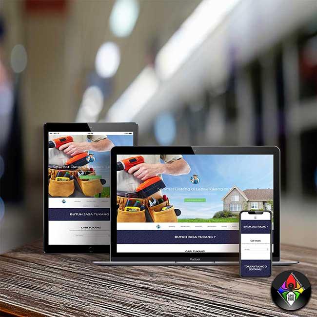 Bali Website Service - Lapak Tukang