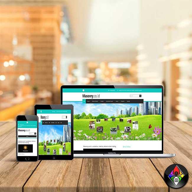 Bali Website Service - Masonry