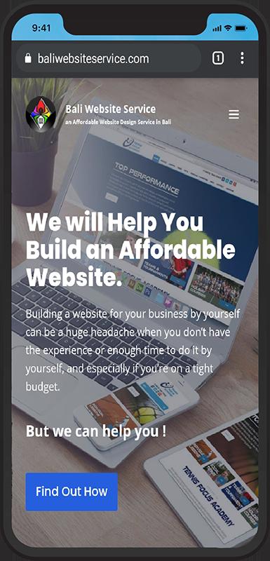 Bali Website Service